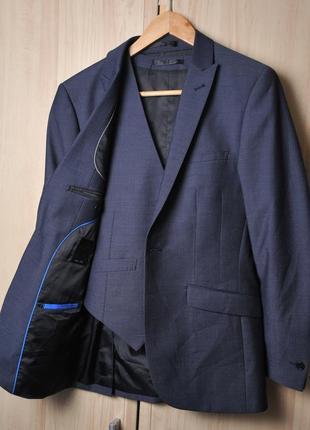 Шикарная пара тонкий пиджак + жилетка  onesix5ive