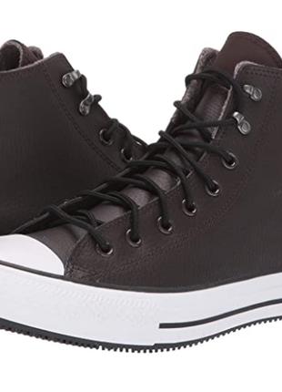 Converse высокие кожаные утепленные кеды оригинал из сша