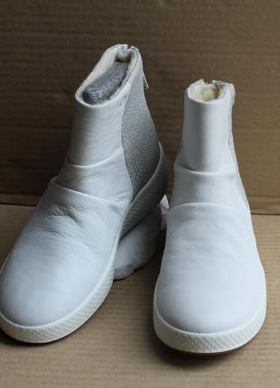 Ботинки ecco ukiuk  221073 hydromax оригінал натуральна кожа
