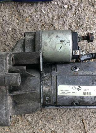 Б/у стартер 2.2 dci Renault , 8200237594 ,Valeo D8R1,