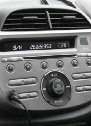Разблокировка раскодировка код магнитол Honda Хонда / Acura Акура