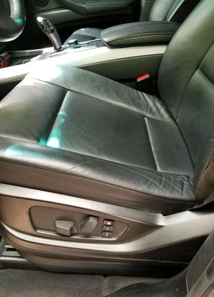 Продам салон BMW X5 E70 чёрная кожа в отличном состоянии