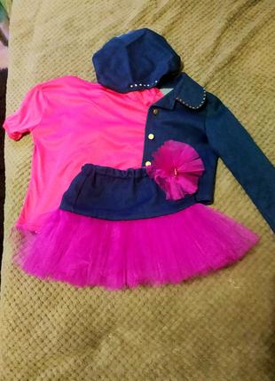 Костюм для девочки, одежда для девочек, детская одежда