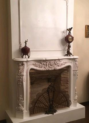 Камин портал ФальшКамин Декоративный камин, Гипс модифицированный