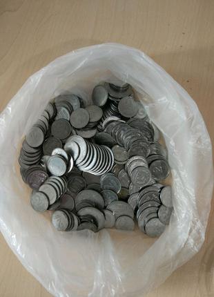 Монеты Украины 1,2,5 коп разных годов