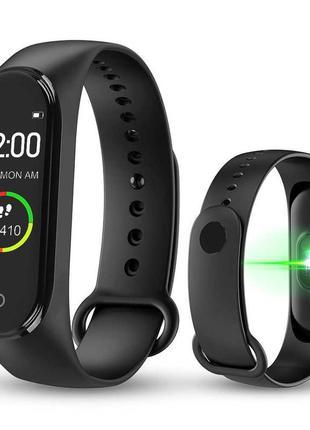 Умные фитнес часы с измерением давления smart band m