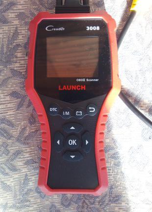 Launch CReader 3008 - автомобильный считыватель кодов неисправнос