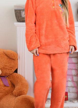 Пижама новая махровая зимняя М-L-XL