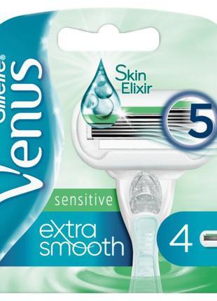 Сменные кассеты Gillette Venus Extra Smooth Sensitive