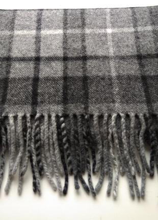 Шерстяной шарф stanton, шотландия