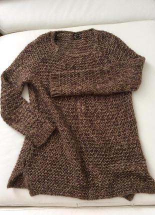 Massimo dutti свитер крупной вязки шерсть sandro missoni piana