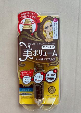 Тушь для ресниц Isehan (Япония) «Три объема»