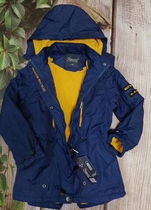 Куртка-парка, осенняя, демисезонная