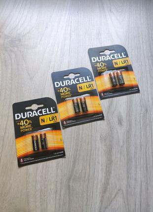 Батарейки Duracell Specialty N 1.5В E90 / LR1 2 шт