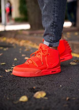 Кроссовки Nike Air Yeezy 2 Red October