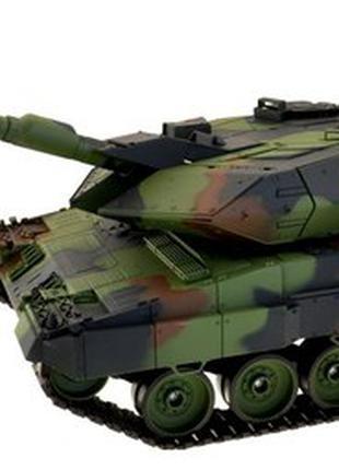 Танк р/у 1:16 Heng Long Leopard II A6 с пневмопушкой и дымом