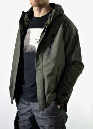 куртка-виндстоппер Eclectik Conroe jacket khakie
