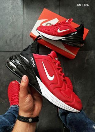 Nike Air Max 270 (красно/черные)