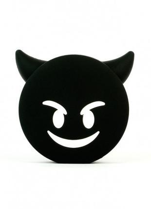 Портативная батарея Дьявол (Черный)