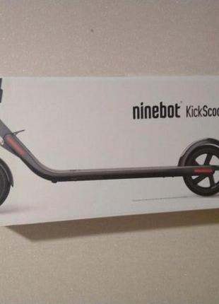 Электросамокат Ninebot by Segway ES4 + 7 месяцев гарантии
