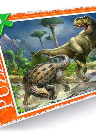 "Пазлы ""Битва динозавров"", 260 эл"