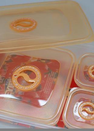 Набор пищевых контейнеров, 4 шт