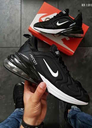 Nike Air Max 270 (черно/белые)