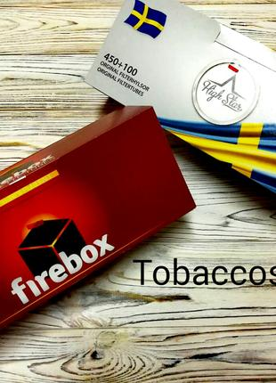 Сигаретные гильзы для Табака Firebox + High Star