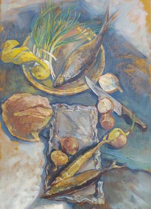 Картина маслом натюрморт оригинал живопись