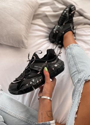 Кроссовки JIMMy Choo Black