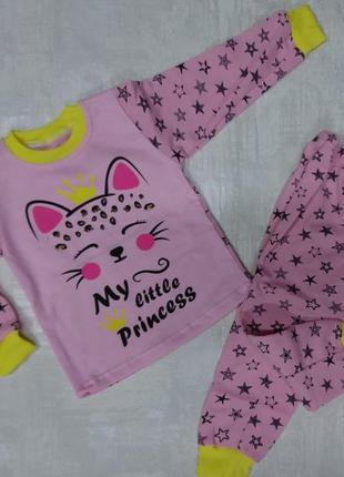 Теплые пижамы девочкам