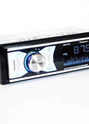 Автомагнитола Pioneer BT1015 ISO - MP3, FM, 2xUSB, SD, AUX, BLUET