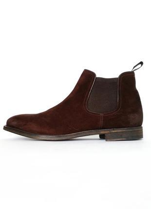 Распродажа! замшевые ботинки - челси fratelli rossetti