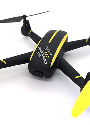 Квадрокоптер с камерой Wowitoys SKY CONQUEROR H4819 с GPS