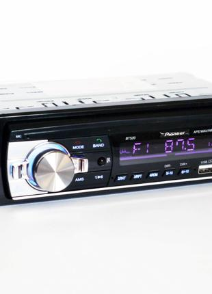 Автомагнитола Pioneer BT520 ISO - MP3, FM, 2xUSB, SD, AUX, BLUETO