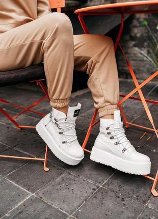 "Кроссовки puma x fenty by rihanna sneaker boot ""white"""
