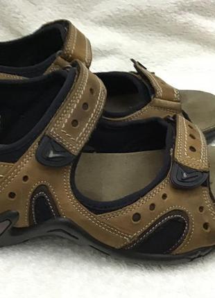 Сандали босоножки кожаные padders 40p