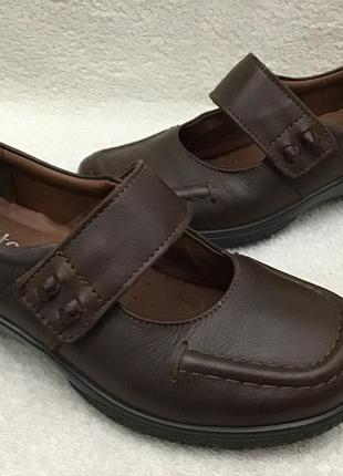 Туфли кожаные hotter оригинал 36p