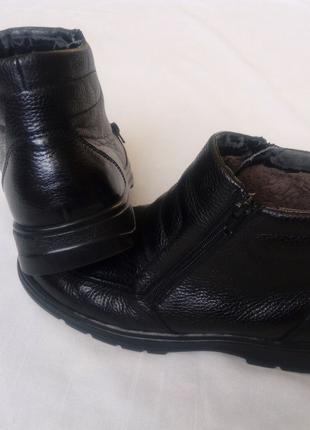 Взуття черевики шкіряні
