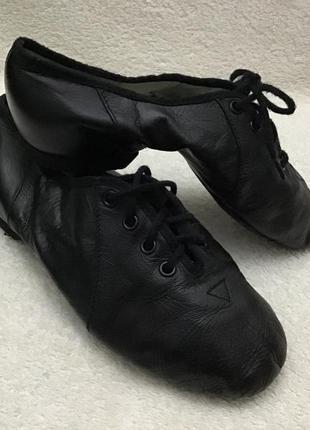 Туфли танцевальные  кожаные bloch оригинал 18.5см