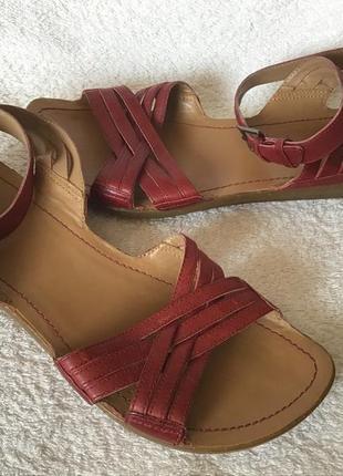 Босоножки сандали кожа clark's 38р(5)