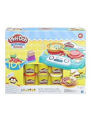 Play-Doh Kitchen Creations Sizzlin' Stovetop Кухонная плита