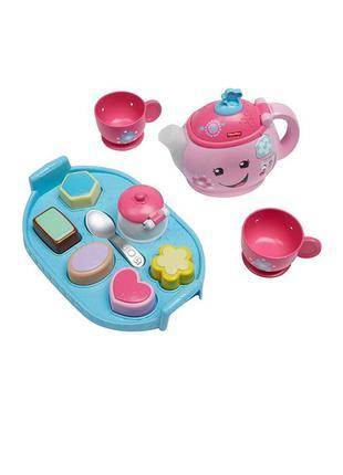 Fisher price музыкальная игрушка,набор для чаепития chicco