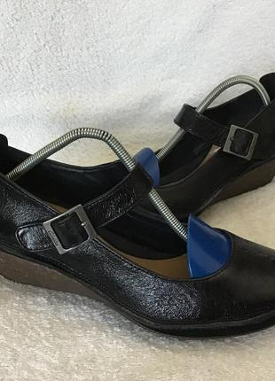 Туфли кожаные clark's 39p