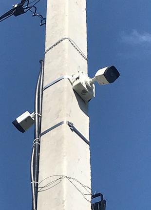 Встановлення систем відеоспостереження
