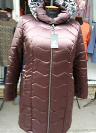 Зимняя куртка 50-60 размера
