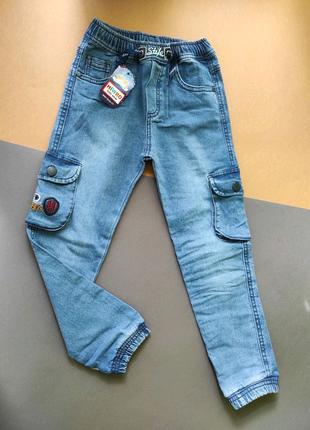 Джинсовые брюки, штаны, джинсы для мальчика