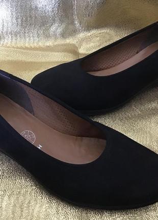 Туфли натурал замшевые ara размер 39
