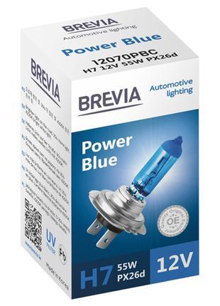 Галогеновая лампа Brevia H7 Power Blue 12v/55w