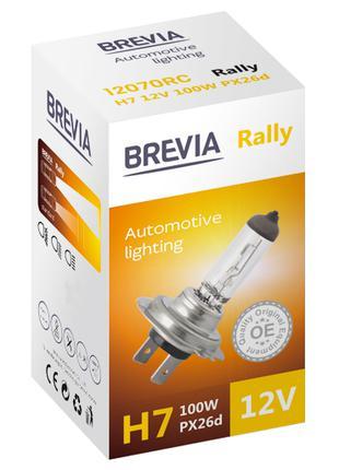 Галогеновая лампа Brevia H7 Rally 12v/100w
